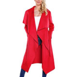 High Quality Foreign Fashion Winter Cardigan Woolen Coats (17207)