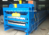 Steel Profile Forming Double Layer Corrugated Sheet Machine