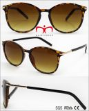 New Fashion Plastic Sunglasses with Metal Decoration (WSP705867)