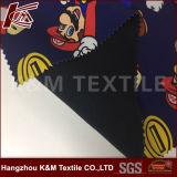 100d Poly Spun Printed Micro Fleeece Fabric TPU Softshell