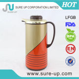 Dubai Market Metal Outer Pink Glass Liner 4 Size Coffee Thermos Flask (JGBD-M)