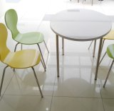 4 Seat Modern Appearance Dining Table and Chair