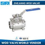 Stainless Steel Actuated 3-PC Ball Valve