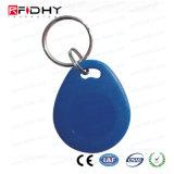 High Security 13.56MHz Hf Smart MIFARE Ultralight C Smart Keychain RFID Key Fob