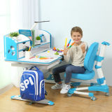 Children Assemble Study Table and Chair Furniture