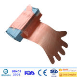 LDPE/HDPE Long Arm plastic Gloves