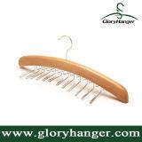 Classic Natural Wood Tie Hanger/Belt Hanger
