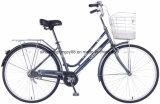 CT26ydn808 26inch Steel Lady City Bike with Basket
