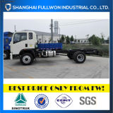 HOWO 4X2 8 Ton Rigid Chassis for Special Purpose Trucks