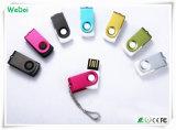 Mini Swivel USB Memory Stick with OEM Logo (WY-MI18)