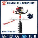 Portable Ground Drill Digging Tools Gasoline Engine Driven