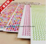 Sticker Manufacturer Scrapbooking Rhinestone Sticker 3D Printing Diamond Sticker (TS-545)