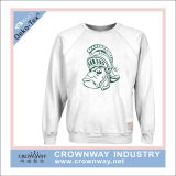 Cool Vintage White Crew Neck Sweatshirt for Men