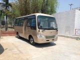 Dry Type Clutch Drum Brakes 130HPS Passenger Coach Bus