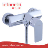 Contemporary Shower Faucet with Chrome Finish