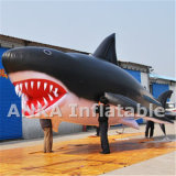 PVC Inflatable Customized Shaped Shark Balloon for Advertising