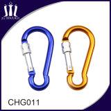 Wholesale Colorful Lockable Carabiner Hook for Dog Leash