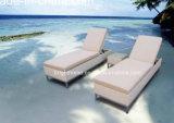 Rattan Plastic Sun Lounger, Aluminium Sun Lounger, Beach Sun Lounger