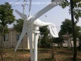 600W Horizontal Wind-Solar Hybrid off-Grid System