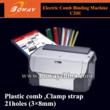 Boway Desktop Small Volume High Speed Electric Sprial&Nbsp; Coil Book Binding Machine HP-S20e