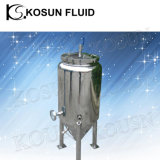 Stainless Steel Cooling Double Jacketed Conical Fermenter 15 Gallon