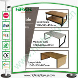 Nesting Wooden Display Tables for Clothing Store
