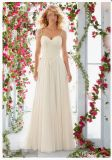2016 A-Line Beaded Lace Bridal Wedding Dresses Wd6816