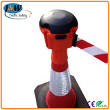 Retractable Traffic Cone Topper Used for Road Safety