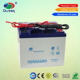 Solar Accumulator 12V 38ah Solar Gel Battery with 15 Years Life
