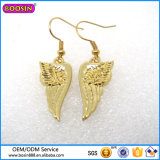 Guangzhou Factory Hot Sale Gold Plated Angel Wing Earring