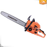 Powertec New Indian Product 2.6kw 2-Stroke Gasoline 58cc Chain Saw