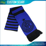Cheap Jacquard Knit Acrylic Scarf for Football Fans (B-NF19F10022)
