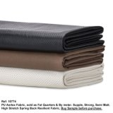 Neotrims Faux Leather PU PVC Airtex Style Eyelet Fabric, Water Resistant, Stretch and Resilientsoft Materia Great Price.
