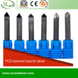 PCD Diamond Flat Bottom Cuting Tools for Stone