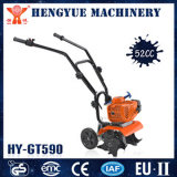 Chinese High Quality Hand Pushing Mini Tiller with Wheels