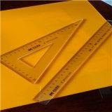 Anti Scratch Custom Polycarbonate Ruler No Break