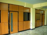 Modern Wooden Partitions Used Office Room Dividers with Window (SZ-WS639)