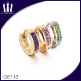 All Types of Customized Color Stones Cuff Women Earrings
