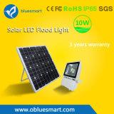 10W Solar Street Garden Light LED Floodlight with Ce Certificate