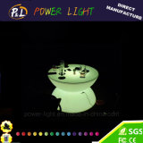 Home Furniture Colorful Rechargeable Illuminated LED Coffee Table