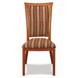 Modern Fabric Seat Aluminum Legs Dining Chair