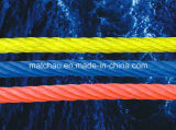 China Manufacturer Marine Braided Rope with Steel