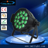 (5in1, 6in1 available) 18PCS 4in1 LED PAR Light Stage Light