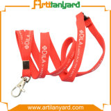 Customized Silk Screen Printed Tube Lanyard