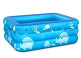 Custom PVC Children Kids Folding Inflatable Swimming Pool