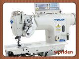 Wd-8452D Electronic High-Speed Double Needle Lockstitch Industrial Sewing Machine with Direct Drive