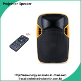 Plastic 12 Inches DJ Speaker with LED Projector and Screen