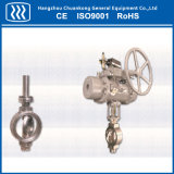 Best Price Stainless Steel Triple Eccentric Butterfly Valve
