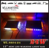 Magnetic Mounting Mini Traffic Warning Light 24LED