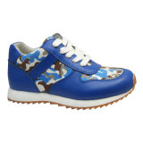 Children′s Sport Shoes with Soft Outsole Walking Shoes (1615664)